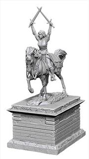 Wizkids - Deep Cuts Unpainted Miniatures: Heroic Statue | Games