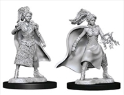 Dungeons & Dragons - Nolzur's Marvelous Unpainted Minis: Female Human Sorcerer | Games