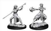 Dungeons & Dragons - Nolzur's Marvelous Unpainted Minis: Female Half-Elf Monk | Games