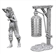 Wizkids - Deep Cuts Unpainted Miniatures: Hanging Cage | Games