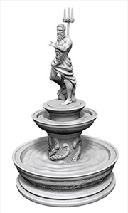 Wizkids - Deep Cuts Unpainted Miniatures: Fountain | Games