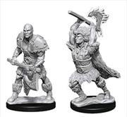 Dungeons & Dragons - Nolzur's Marvelous Unpainted Minis: Male Goliath Barbarian | Games