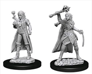 Dungeons & Dragons - Nolzur's Marvelous Unpainted Minis: Female Elf Cleric | Games