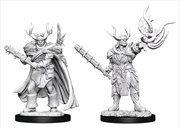 Pathfinder - Deep Cuts Unpainted Miniatures: Male Half-Orc Druid | Games