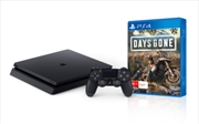 PlayStation 4 Console 1TB Slim with Days Gone