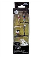 Disney - Nano Metalfigs Nightmare Before Christmas 5-pack | Merchandise