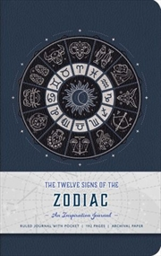 Twelve Signs Of The Zodiac - An Inspiration Journal | Hardback Book