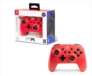 Enhanced Wireless Controller for Nintendo Switch Red