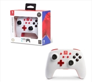 Enhanced Wireless Controller for Nintendo Switch White