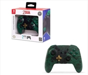 Enhanced Wireless Controller for Nintendo Switch Silhouette Zelda