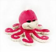 15cm Octopus Fuchsia