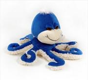 15cm Octopus Blue