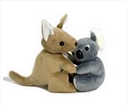 16cm Hugging Koala/Kangaroo | Toy