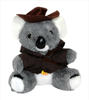 16cm Koala Swagman W/Music