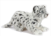 Snow Leopard Standing 25cm H | Toy