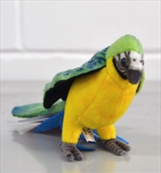 Macaw Blue And Yellow 15cm H | Toy