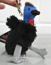 9cm Cassowary Keyring   Toy