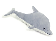 45cm Dolphin W/ Squeaker   Toy