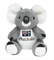 22cm Koala W/ Embroid Front | Toy