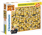 Clementoni Puzzle Despicable Me Impossible Puzzle 1000 Pieces | Merchandise