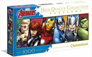 Clementoni Disney Puzzle The Avengers Panorama 1000 Pieces | Merchandise