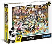 Clementoni Disney Puzzle Mickeys 90th 1000 Pieces | Merchandise