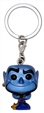 Aladdin - Genie Metallic US Exclusive Pocket Pop! Keychain [RS] | Pop Vinyl