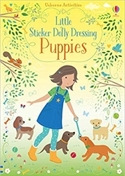 Little Sticker Dolly Dressing - Puppies | Paperback Book