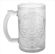 Legend of Zelda - Shield Glass | Merchandise