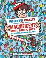 Where's Wally? The Magnificent Mini Box Set - 5 Books & Magnifying Glass | Paperback Book
