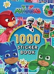 Pj Masks 1000 Sticker Book