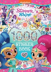 1000 Sticker Book - Shimmer And Shine