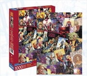 Captain Marvel Collage 1000pc