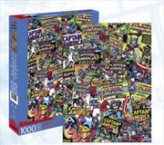 Captain America Collage 1000pc