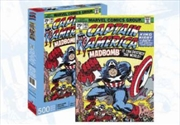 Captain America Cover 500pc