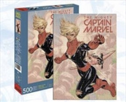 Captain Marvel Cover 500pc