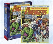 Avengers Cover 500pc Puzzle | Merchandise