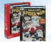 Spiderman Cover 500pc Puzzle | Merchandise
