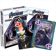 Avengers Endgame - Thanos Playing Cards | Merchandise