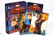 Avengers Endgame - Captain Marvel Playing Cards | Merchandise
