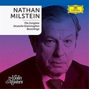 Nathan Milstein - Complete Recordings On Deutsche Grammophon - Limited Edition Boxset