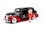 Betty Boop - 1939 Checy Master Deluxe 1:24 with Figure Hollywood Ride