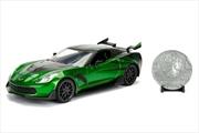 Transformers - Chevy Corvette Stingray Crosshairs 1:24 Hollywood Ride