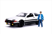 Initial D - 1986 Toyota Corolla Trueno AE86 1:24 Hollywood Ride | Merchandise
