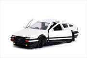 Initial D - 1986 Toyota Corolla Trueno AE86 1:32 Hollywood Ride