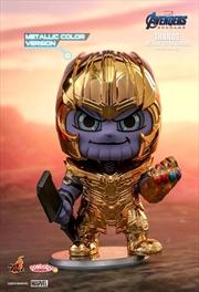Avengers 4: Endgame - Thanos Metallic Cosbaby