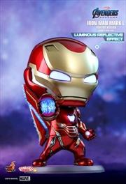 Avengers 4: Endgame - Iron Man Mark L UV Effect Cosbaby