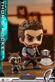 Avengers 4: Endgame - Thor & Rocket Cosbaby Set