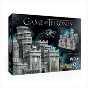 Game of Thrones - Winterfell Puzzle 3D | Merchandise