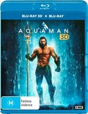 Aquaman | 3D + 2D Blu-ray